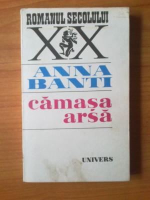 k5 Anna Banti - Camasa arsa foto