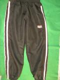 Pantaloni de trening pt fete de 7-8 ani, 128 cm, Lonsdale, Negru