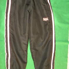 Pantaloni de trening pt fete de 7-8 ani, 128 cm, Lonsdale Londsdale, Culoare: Negru