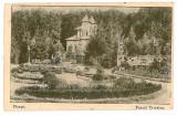 1840 - Arges, PITESTI, Trivale Park - old postcard, CENSOR - used - 1917, Circulata, Printata