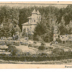 1840 - Arges, PITESTI, Trivale Park - old postcard, CENSOR - used - 1917 - Carte Postala Muntenia 1904-1918, Circulata, Printata