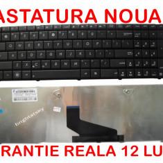 Tastatura laptop Asus K73BY cu suruburi de pridere pe spate NOUA - GARANTIE 12 LUNI!