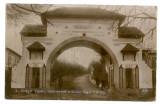 1836 - Arges, PITESTI, Regimentul nr. 4, poarta - old postcard - used, Circulata, Printata