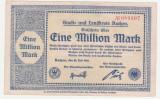 (2) BANCNOTA (NOTGELD) - GERMANIA - AACHEN - 1.000.000 MARK 1923 (20 IULIE 1923)