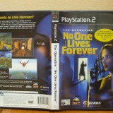 The Operative: No One Lives Forever (PS2) (ALVio) + sute de alte jocuri ps2 originale (VAND SCHIMB)