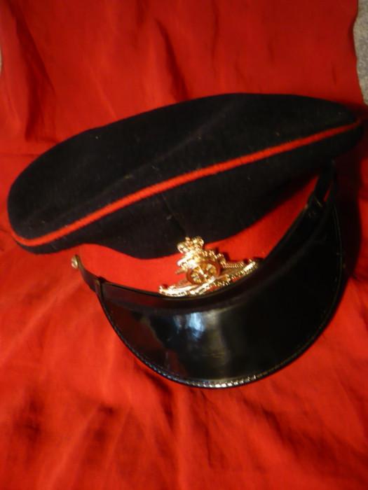 Sapca Militara Ofiter Artilerie -Anglia - Regimentul Regal de Artilerie , nefolosita