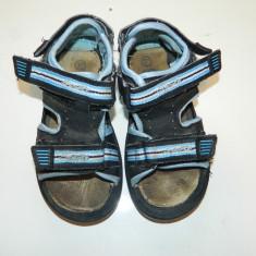 Sandale, sandalute pentru baieti, ideale de joaca, foarte practice, marimea 27 - Sandale copii, Culoare: Albastru