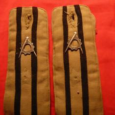 Pereche Epoleti Militari - Tehnic, fara stele