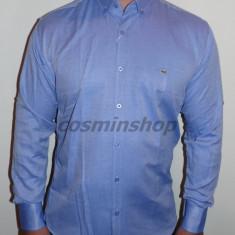 Camasi LACOSTE Model NOU de Sezon - Slim Fit !!! - Camasa barbati, Marime: 45, Culoare: Albastru, Maneca lunga