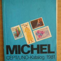 RWX 10 - MICHEL - CEPT/UNO KATALOG - 1981