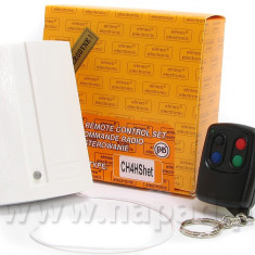 Kit Elmes CH4, receptor 4 canale cu telecomanda.