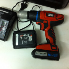 Bormasina Black & Decker HP188F4L
