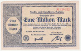 (5) BANCNOTA (NOTGELD) - GERMANIA - AACHEN - 1.000.000 MARK 1923 (20 IULIE 1923)