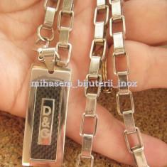 Lant +medalion inox = 40 ron - Lantisor inox