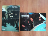 2  minipostere black metal  SAMAEL  si  DISSECTION , provin din revista METAL HAMMER si sunt in stare foarte buna aproape noi