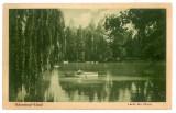 1332 - RM. VALCEA, Lacul din parcul ZAVOI - old postcard - used - 1935