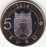 Moneda - Republica Finlanda - 5 Euro 2014 - Karelia - Proof - Foarte rara - Tiraj 10000