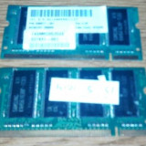 Vind 2 x SODIMM Samsung tip DDR //333/PC2700/2 x 256 MB,impecabile