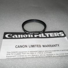 FILTRU CANON 52mm HAZE-1 U.S.A. - Filtru foto