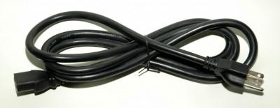 Cablu alimentare american 14AWG cu impamantare IEC C13 - NEMA 1,8 m foto
