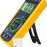 Multimetru digital aparat de masurat tensiune include si buzzer  DT9205