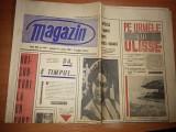 ziarul magazin 13 aprilie 1968 ( foto din orasul tulcea pe rima pagina )