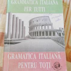 GRAMATICA ITALIANA PENTRU TOTI - MARILENA CHIRETU - Curs Limba Italiana