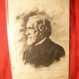 Ilustrata clasica G. Verdi , circ. 1901 cu goarna 151 , Italia