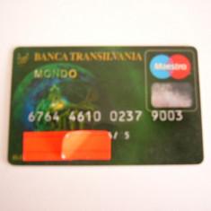CARD BANCAR - PIESA DE COLECTIE