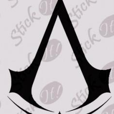 Assassin`s Creed Logo_Tatuaj De Perete_Sticker Decorativ Cod: WALL-371  -  Orice culoare, Orice model pe comanda