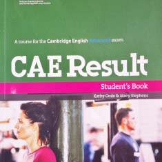 CAE RESULT Student's Book + Workbook Resource Pack - Certificare