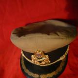 Sapca Militara Ofiter Arma Tehnica -fabr.Condor Romania 1992, Masura 57