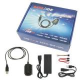 ADAPTOR USB 2.0 SATA IDE ESATA  DVD-RW RACK EXTERN 2,5 si 3,5