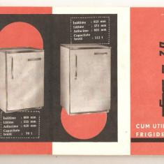 Carte tehnica pentru frigiderele Fram 70*112