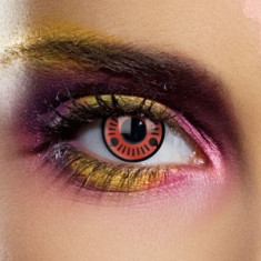 Lentile Sharingan Sasuke+ suport lentile GRATUIT, marca EDIT, Marea Britanie - Lentile de contact colorate