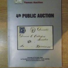 CATALOG DE TIMBRE PENTRU LICIATATII, YAMAN AUCTION, 6 IUNIE 2009