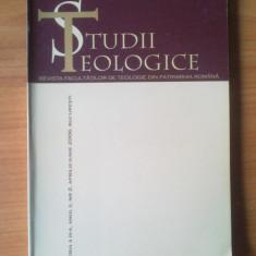 n1  STUDII TEOLOGICE , REVISTA FACULTATILOR DE TEOLOGIE DIN PATRIARHIA ROMANA