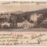 Anina,litografie,circulata la Resita in 1901