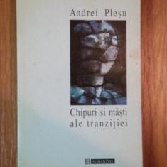 CHIPURI SI MASTI de ANDREI PLESU, 1996 - Roman