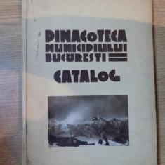 PINACOTECA MUNICIPIULUI BUCURESTI, CATALOG, 1940 - Carte Istoria artei