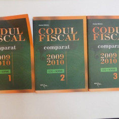 CODUL FISCAL COMPARAT 2009-2010, VOL. I - III, COD + NORME de NICOLAE MANDOIU, 2010 - Carte Marketing