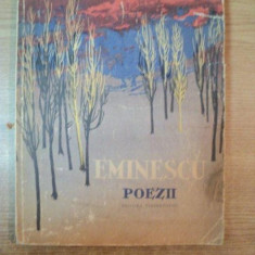 POEZII de M. EMINESCU, CONTINE ILUSTRATII DE PERAHIM, Bucuresti - Roman