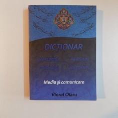 DICTIONAR ROMAN-PERSAN / PERSAN-ROMAN, MEDIA SI COMUNICARE de VIOREL OLARU, 2014 - Carte in alte limbi straine