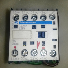 Releu electromagnetic TELEMECANIQUE CA2KN22P7 - TRANSPORT GRATUIT