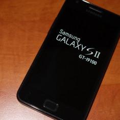 Vand/Schimb Samsung Galaxy S2 - Telefon mobil Samsung Galaxy S2, Negru, 16GB, Neblocat