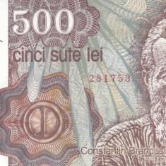 Bancnota Romania 500 Lei ianuarie 1991 - P98a UNC - Bancnota romaneasca