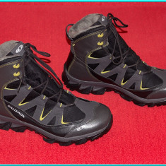 DE FIRMA → Ghete trekking profesioniste, CA NOI, marca SALOMON → barbati   nr 46 - Incaltaminte outdoor