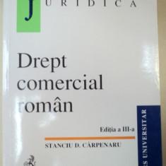 DREPT COMERCIAL ROMAN EDITIA A III-A REVIZUITA-STANCIU D.CARPENARU
