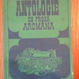 ANTOLOGIE DE PROZA AROMANA-HRISTU CANDROVEANU, BUC.1977