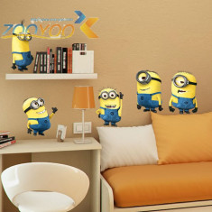 Autocolant Despicable Me 2 Minions Sticker Perete Minioni 2018 Camera Copiilor